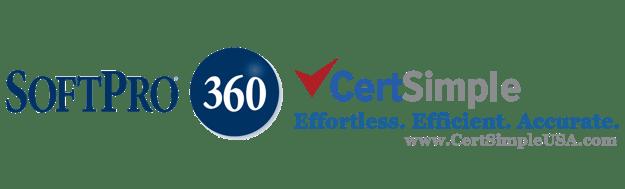 CertSimple and SoftPro 360 Integration