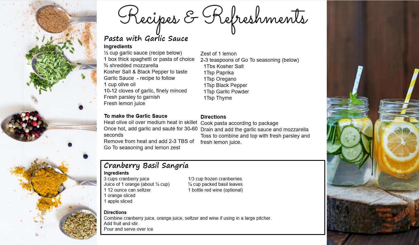 Leslies Recipe